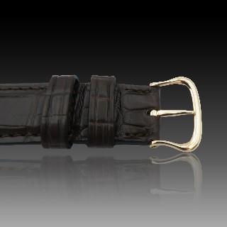 Bracelet gourmette or jaune 18k massif avec Diamants Brillants.