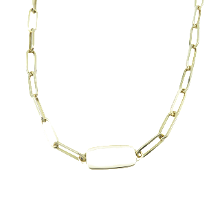 Collier Fred Or jaune 18k massif vers 1980  Poids: 125,70 Grs.
