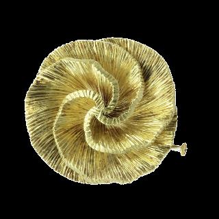 Boucles d'oreilles Cartier Panthère en or jaune 18k massif  Vers 1980.