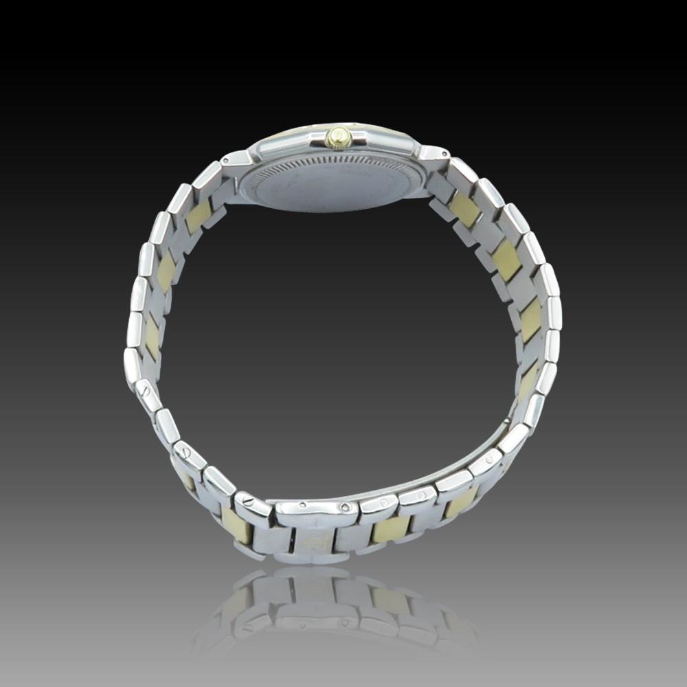 Montre Blancpain Villeret Dame Or jaune 18k diamants Automatique Vers 1990.