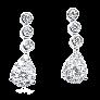 Bague en Or gris 18K et platine vers 1965, Saphir et Diamants.