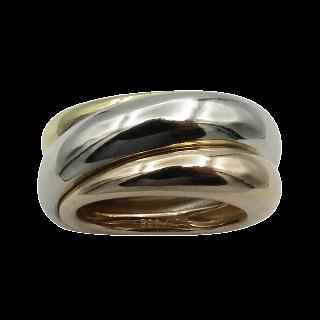 Collier Pendentif Boucheron Coeur Or Gris 18k et Diamants