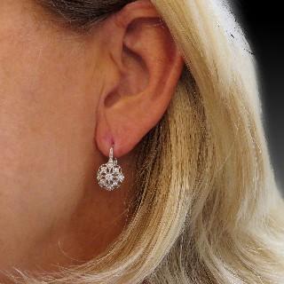 Bague Dinhvan Platine avec Diamants Brillants de 2007. Taille 60.