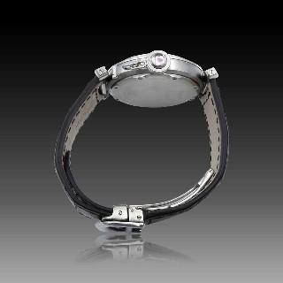 """Collier pendentif Poiray """"Indira"""" en Or Rose 18k avec Oeil de Tigre et Diamants de 2009."""