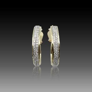 Bague en or gris 18k avec un Diamant brillant de 2.47 Cts Qualité L-VS1 + 1.0 Ct  G-VS.