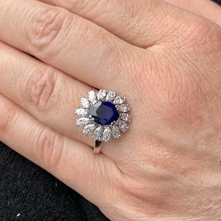 Bague Chanel Ultra Or gris 18k Céramique et diamants . Taille 50 à 52