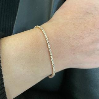 Solitaire Diamant taille brillant de 3.01 Cts L-VS1. Or gris 18k .Taille 53-54.