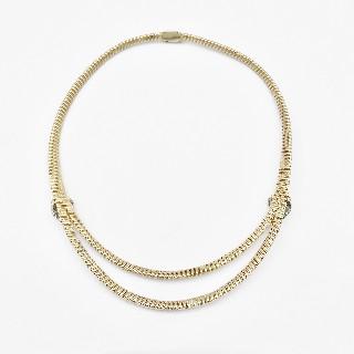 Montre Blancpain Or jaune et Platine vers 1965 Diamants Mécanique.