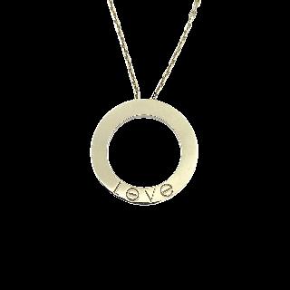 Collier pendentif en or gris 18 carats avec 1.50 Cts de diamant brillants de couleurs.