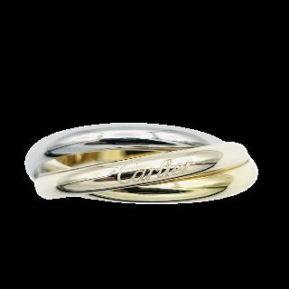Alliance or gris 18k avec 3.06 Cts de Diamants Brillants 17 x 0.18 Cts G-VS. Taille 55