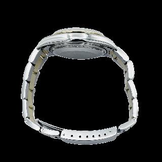 Alliance or gris 18k avec 3.20 Cts de Diamants Brillants G-VS. Taille 52.