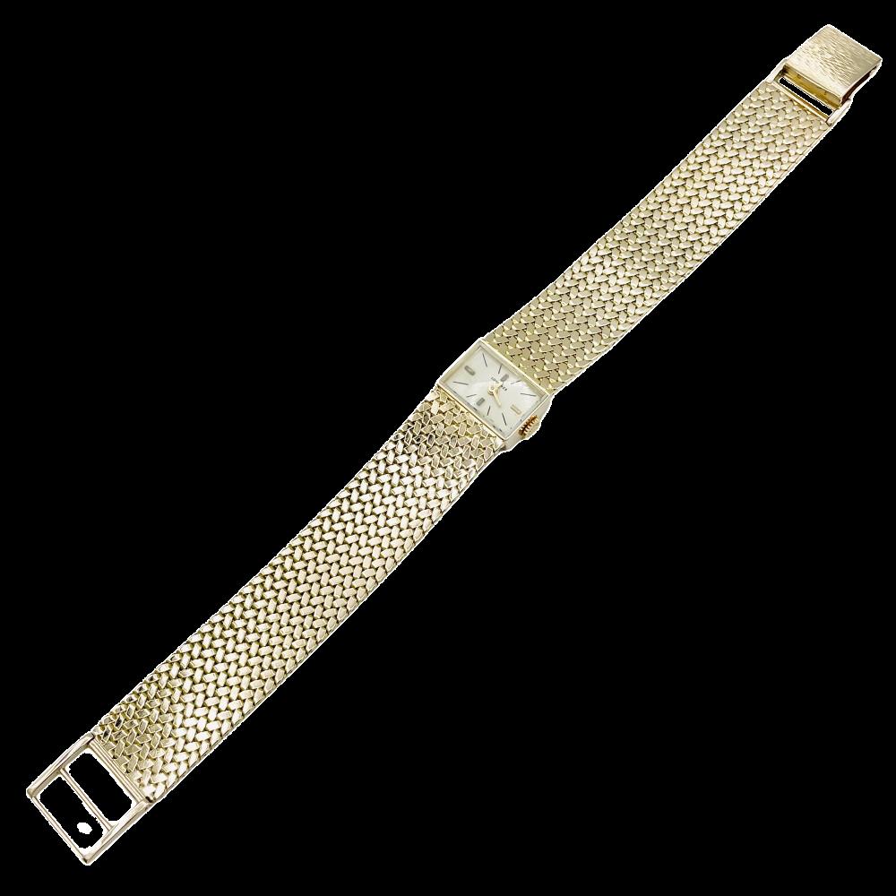 Montre dame Vacheron Constantin avec diamants et or blanc 18k Mécanique 9ffc1d00358
