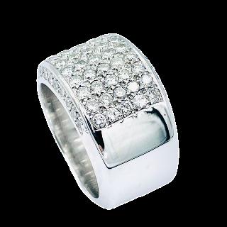 Puces d'oreilles Diamants 2 x 0.52 Cts G-VS en Or Jaune 18k