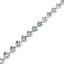 Pendentif en or gris 18k et Platine avec Diamant de 2.23 Cts I-SI2 (LFG)