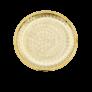 """Bague """"De Beers"""" Or gris 18k """"Lotus"""" avec 0.45 Cts Diamants. Taille 49"""