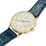 Alliance Cartier Or 18k Massif Trinity Rigide Homme Taille 65 .