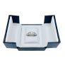 Solitaire Diamant brillant 1.05 Cts G-VVS1 en Or 18 Cts + 0.21 Cts.