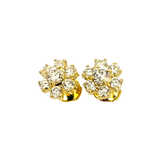 Alliance Cartier Trinity Diamants Or 18k Moyen Modèle de 2006. Taille 52
