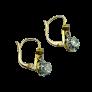Solitaire en Or gris 18 Cts avec Diamant brillant 2.44 Cts F-VVS2