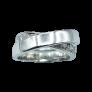 Solitaire en Or gris 18 Cts avec Diamant brillant 1.60 Cts I-SI2 + 0.31 Cts.