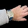 Montre Breitling Premier Vintage Chronographe Or rose 18k Mécanique Vers 1950.