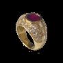 Montre Boucheron Reflet Dame Médium en Or Jaune 18k avec diamants quartz .