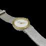 Montre Omega de Ville Extraplate Carrée vers 1990 Or jaune 18K Quartz.