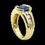 Bague Chopard Happy Diamonds Or Jaune 18k Diamants. Taille 54