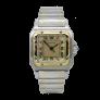 Bague en or gris 18k avec Perle grise et Diamants.Taille 54