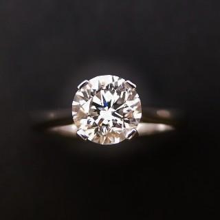 Bracelet ligne en or gris 18k avec 5.80 Cts de Diamants brillants blancs.