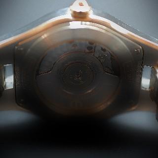 """Montre Breitling """"Callisto"""" dame en acier et or quartz . 34 mm. boucle déployante"""