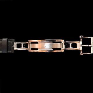 Très Rare Montre Lip (Blancpain) extraplate Homme en Or rose 18k Mécanique Vers 1970.