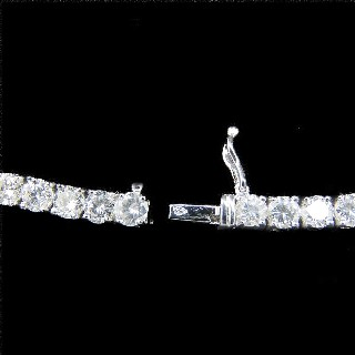 "Alliance ""De Beers"" Platine 1,40 Cts Diamants. Taille 47-48"