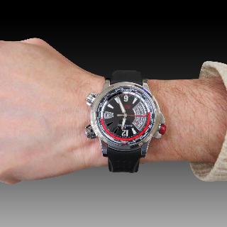 Bracelet Fred Force 10 en Or gris 18k de 2011 . Grand Modèle.