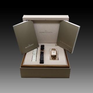 """Montre Cartier dame """"Panthère Vendome """" Or rose 18k massif quartz Vers 1995."""