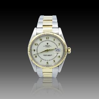 Alliance or gris 18k avec 2.97 Cts de Diamants Brillants G-VS. Taille 52.