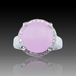 Montre dame Art Déco en platine avec diamants taille rose et taille ancienne