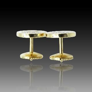 Demi Alliance Cartier Classique Platine taille 54 avec diamants de 2010.