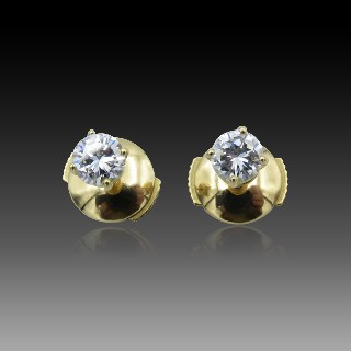 Bracelet Messika Skinny Taille S Or gris 18k Diamants. Prix neuf : 4550€.