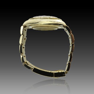Bague toi et moi en or jaune 18k avec saphirs fins et diamants .Taille 48