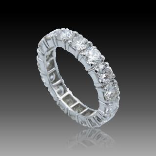 Bague Or Jaune 18K et platine vers 1920 , Emeraude Colombie et Diamants taille ancienne.