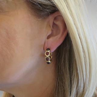 Collier pendentif en or gris 18k avec diamant brillant de 0,25 Cts G-VS