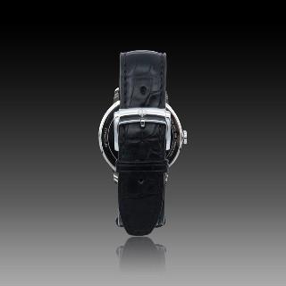 Alliance or gris 18K avec 0.76 Cts Diamants G-VS . Taille 54.