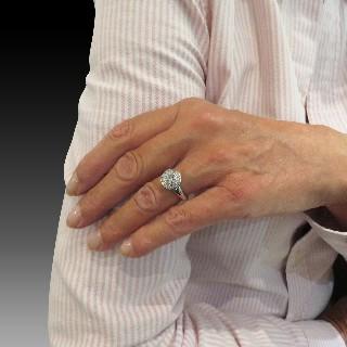 Bracelet ligne en or jaune 18k avec 2.60 Cts de Diamants brillants Extrablancs.