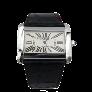 Bracelet souple en or gris 14 Cts avec 15 Cts de Diamants G-VS.
