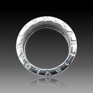 Alliance or gris 18k avec 2.40 Cts de Diamants Brillants G-VS. Taille 51.