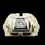 """Bracelet Cartier """"C"""" ligne Diamants brillants 1,63 Cts Or gris 18k.18 cm de 2014"""
