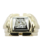 "Bracelet Cartier ""C"" ligne Diamants brillants 1,63 Cts Or gris 18k de 2014"