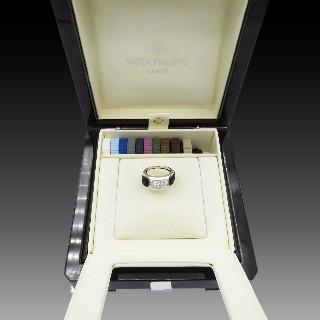 Broche florale 1950 Or jaune 18 Cts Diamants saphirs et rubis