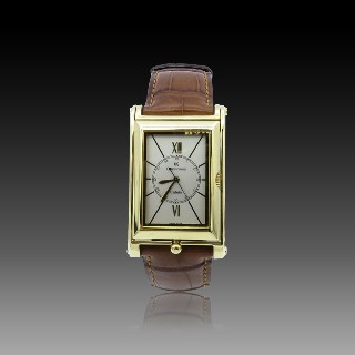 Montre Chaumet Dandy Gmt XL or rose 18k Automatique de 2017.
